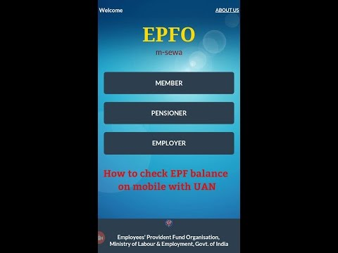How to check Provident Fund (EPF) balance on mobile with UAN