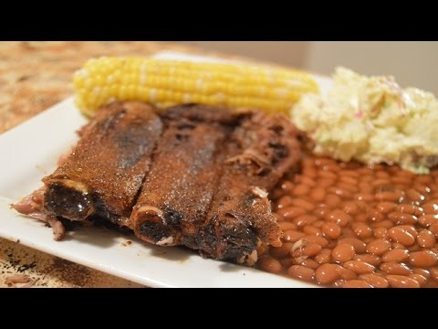 Baby Back Ribs Dry Rubbed - BAKED! EASY!