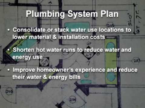 Building Science Video: Plumbing