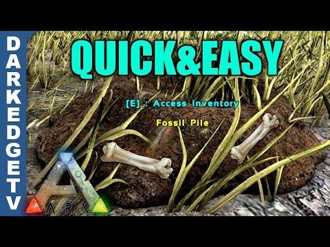QUICK & EASY Way of Farming Dinosaur Bones! ARKaeology Event