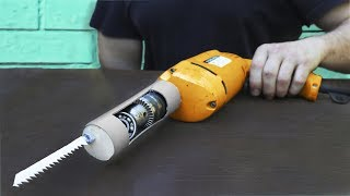 Awesome Device of the Drill and Saw !