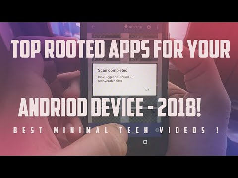 TOP ROOTED APPS FOR YOUR ANDRIOD DEVICE - 2018! 🔥