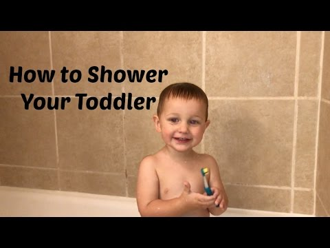 How To Shower Your Toddler