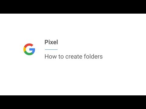 Pixel | How to create folders