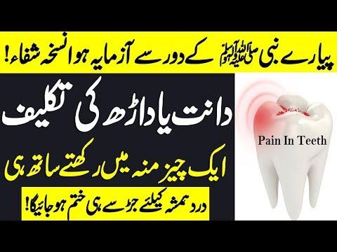 Teeth Pain Dua In Islam | Dant Ka Dard Or Eska ilaj | Teeth