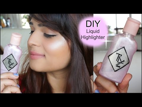 DIY Liquid Highlighter  ( Super Affordable! ) Make it at home