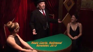 Pop Haydn Close Up at the Magic Castle
