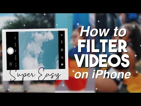 How to Filter Your Videos on iPhone (aesthetic)