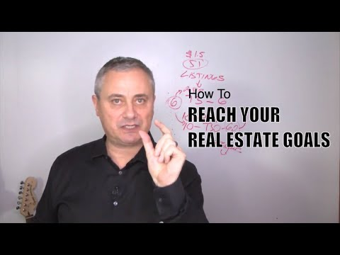 REAL ESTATE COACHING: How To Reach Your Goals