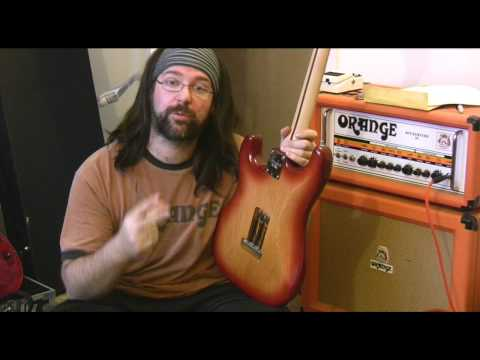 How to block off a tremolo - Hardtail an electric guitar