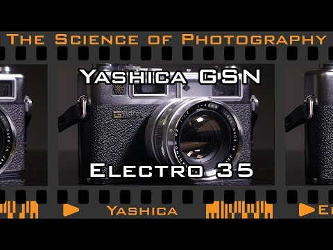 Forget Yashica digiFILM, let's talk about the REAL Yaschica Electro 35 GSN Film Rangefinder