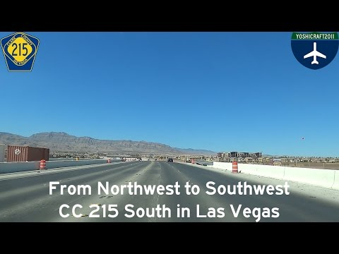 (3-6) From Northwest to Southwest - CC 215 South in Las Vegas