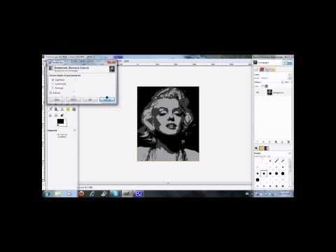 Stencil Tutorial : Three Layers (Beginner Stencils in GIMP)