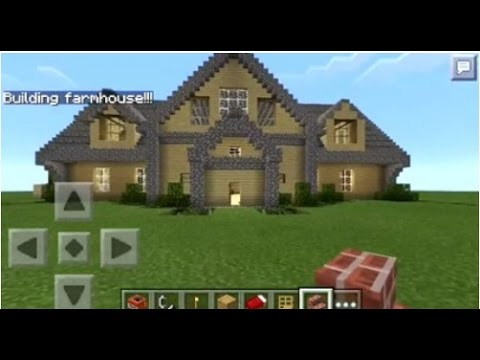 Minecraft PE | How to Spawn Houses