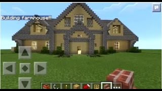 Download Minecraft PE | How to Spawn Houses Video