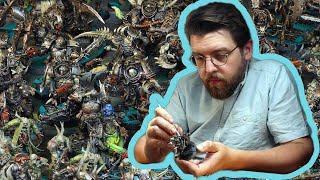 I stayed up for 25 hours to paint a 2000 point Warhammer army