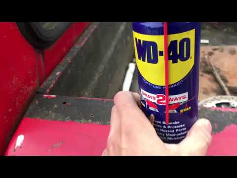 Key lock Problem On Ford Ranger Fix with WD-40