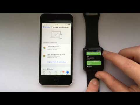 Whatsapp for Apple Watch all Series.   New Video Uploaded  