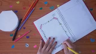 #x202b;تزيين ( لين ) لدفاتر المدرسة Nice 😍😍😍😍😍😍❤❤❤#x202c;lrm;