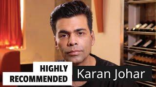 Highly Recommended: Karan Johar