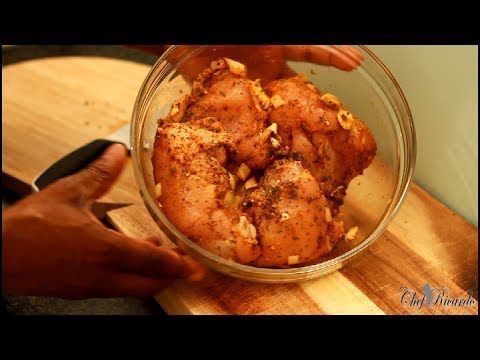 Fried Chicken Recipe (Jamaican Cooking) | Recipes By Chef Ricardo