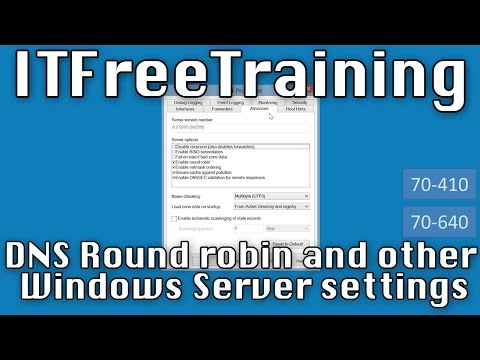 Windows DNS Server Settings