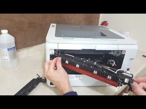 Brother Cleaning and Replacing Fuser