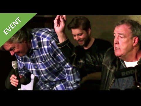Funny Interview - Clarkson , Hammond & May - drivetribe ,Grand Tour season 2, Ice Cream - Feb 2017