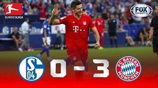 Schalke 04 - Bayern Múnich [0-3] | GOLES | Jornada 2 | Bundesliga