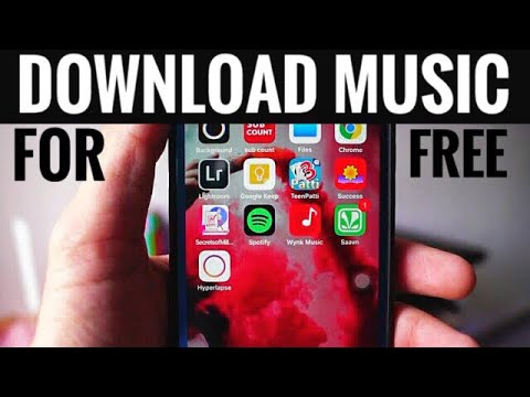 Download music for free on iphone & Ipad! 2017