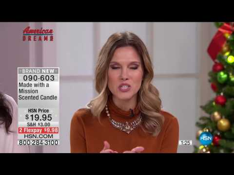 HSN | HSN Today: American Dreams / Deck The Halls 11.01.2016 - 07 AM