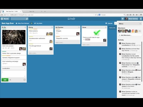 Getting Started With Trello (Demo)