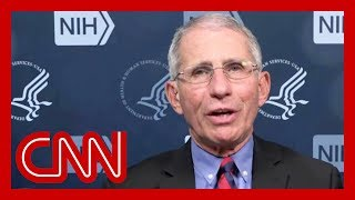 Dr. Fauci: You don't make the timeline, the virus does