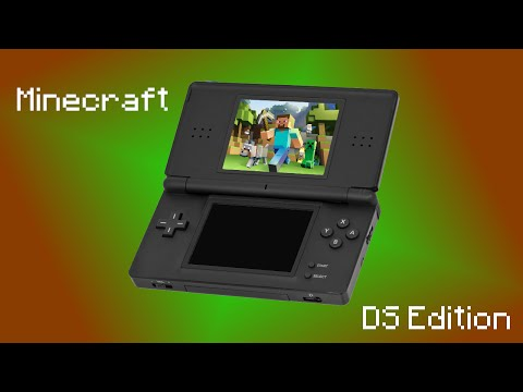 Minecraft DS Edition! How To