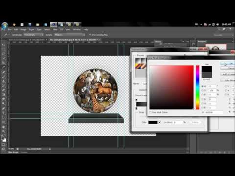 how to make 3d ball in photoshop by picture