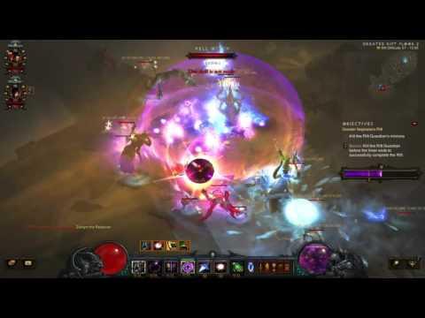 Diablo 3: The Diversity Of Uncommon Builds (Team 5/12 Grift 57 v2.4.0)