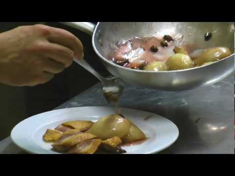 Cooking Classes Bologna Stefano Corvucci (Duck breast with caramelized pears and pistachios)