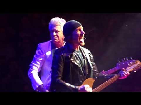 U2 - 2018 - Desire (HD) - From Boston 6-22-2018 (Section 21 Row 1 Seat 1)