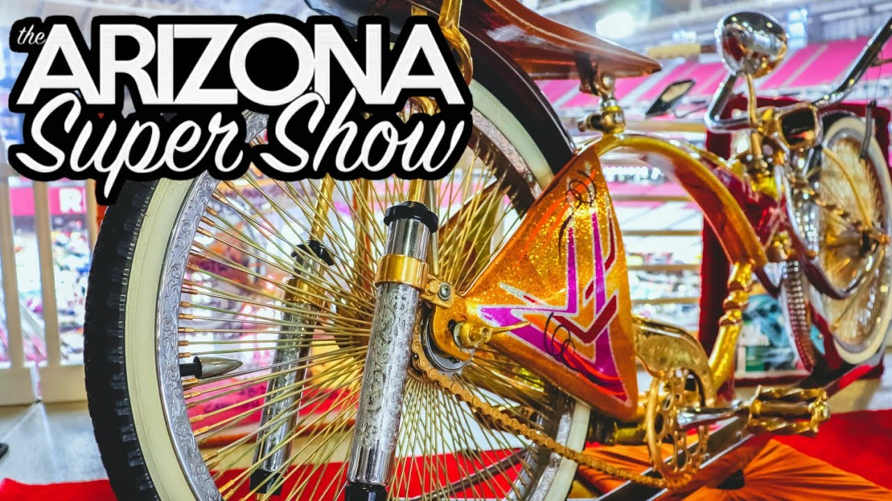 2019 Arizona Lowrider Super Show Bikes
