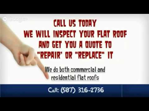 Flat Roof Replacement Calgary - Call 587-316-2736 | Replace Flat Roof