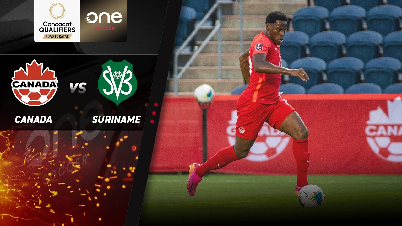 HIGHLIGHTS   Canada v Suriname - CONCACAF Men's World Cup Qualifiers (Qatar 2022)