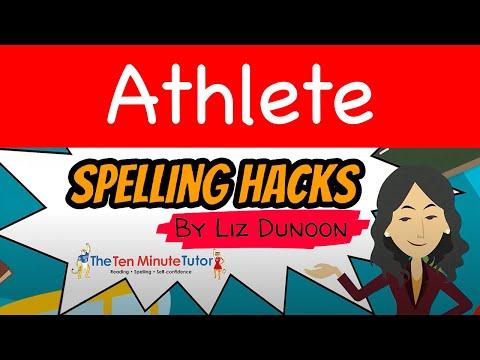 Spelling Hack Episode 12 -  Athlete
