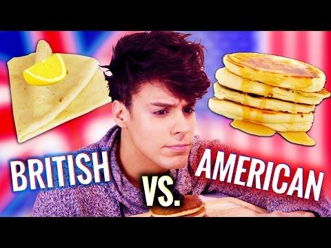 British vs. American PANCAKES!