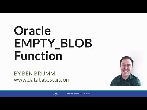 Oracle EMPTY_BLOB Function