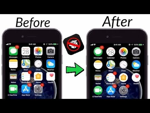 How to change and get circular icons on iPhone/iPad/iPod ios 11-11.1.2 NO jailbreak NO computer