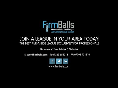 FirmBalls Five-a-side Business Football Leagues