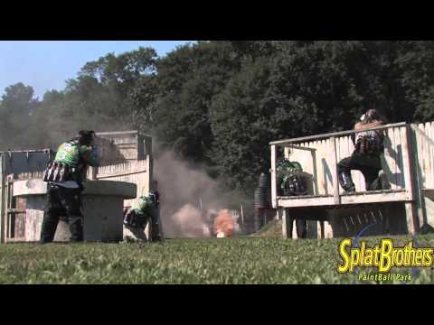 Smoke Bombs at Splatbrothers Paintball Park