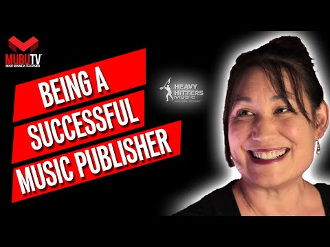 How To Be A Successful Independent Music Publisher - Cindy Badell Slaughter - MUBUTV: Insider SE. 7