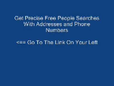 Free People Search - Get Free People Searches