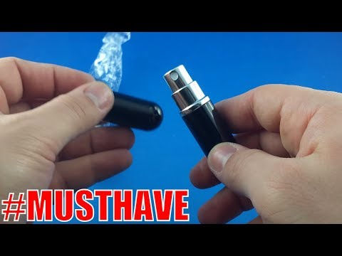 5ml Refillable Portable Mini perfume bottle from AliExpress.com Unboxing